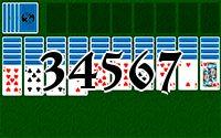 Пасьянс №34567