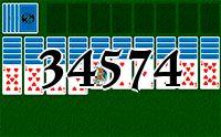 Пасьянс №34574
