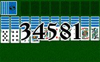 Пасьянс №34581
