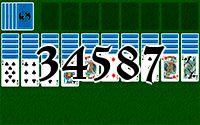 Пасьянс №34587