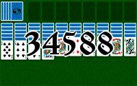 Пасьянс №34588