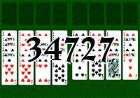 Пасьянс №34727