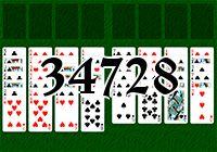 Пасьянс №34728