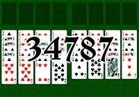 Пасьянс №34787