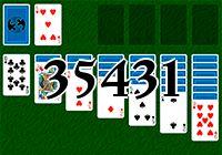 Пасьянс №35431