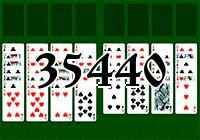 Пасьянс №35440