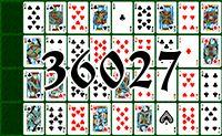 Пасьянс №36027