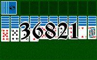 Пасьянс №36821