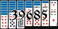 Пасьянс №39685