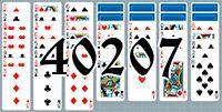 Пасьянс №40207