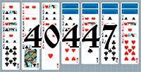 Пасьянс №40447