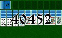 Пасьянс №40452