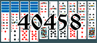 Пасьянс №40458