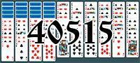 Пасьянс №40515