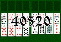 Пасьянс №40520