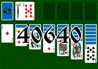 Пасьянс №40640