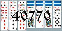 Пасьянс №40770