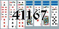 Пасьянс №41167