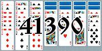 Пасьянс №41390