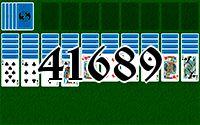 Пасьянс №41689