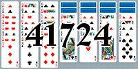 Пасьянс №41724