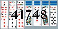 Пасьянс №41748