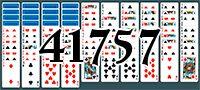 Пасьянс №41757