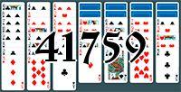 Пасьянс №41759