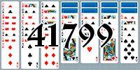 Пасьянс №41799