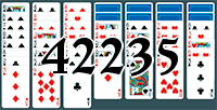 Пасьянс №42235
