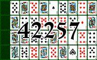 Пасьянс №42257
