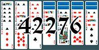 Пасьянс №42276