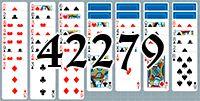 Пасьянс №42279