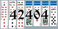 Пасьянс №42404