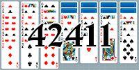 Пасьянс №42411