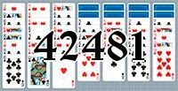 Пасьянс №42481