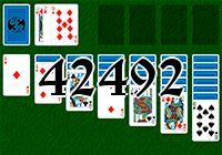 Пасьянс №42492