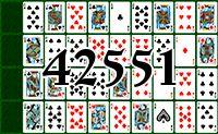 Пасьянс №42551