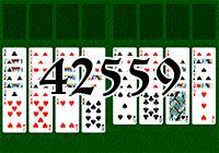 Пасьянс №42559