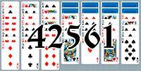 Пасьянс №42561