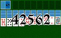 Пасьянс №42562