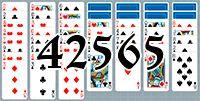 Пасьянс №42565