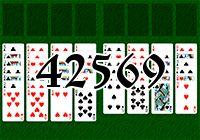 Пасьянс №42569