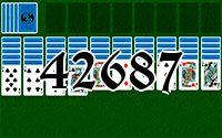 Пасьянс №42687