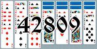 Пасьянс №42809