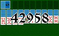 Пасьянс №42958