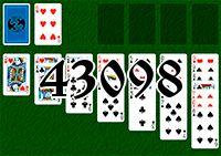Пасьянс №43098