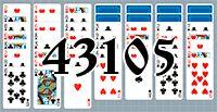 Пасьянс №43105