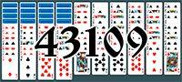 Пасьянс №43109
