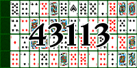 Пасьянс №43113